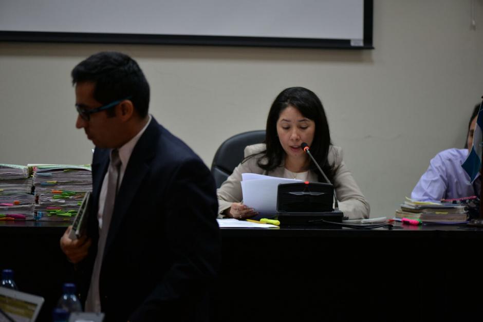 Entre los casos que deberá llevar la jueza se encuentra el de Cristina Siekavizza. (Foto: Wilder López/Soy502)