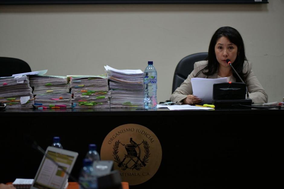 """La jueza de Mayor Riesgo """"D"""" fue nombrada recientemente. (Foto: Wilder López/Soy502)"""