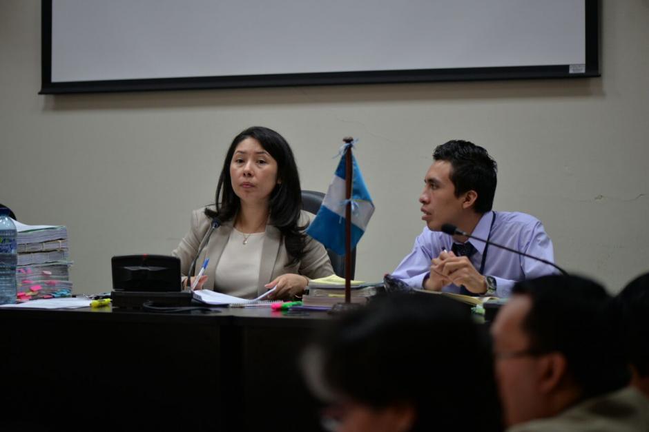Aifán inicia sus diligencias como jueza de Mayor Riesgo con una audiencia por el caso Migración. (Foto: Wilder López/Soy502)