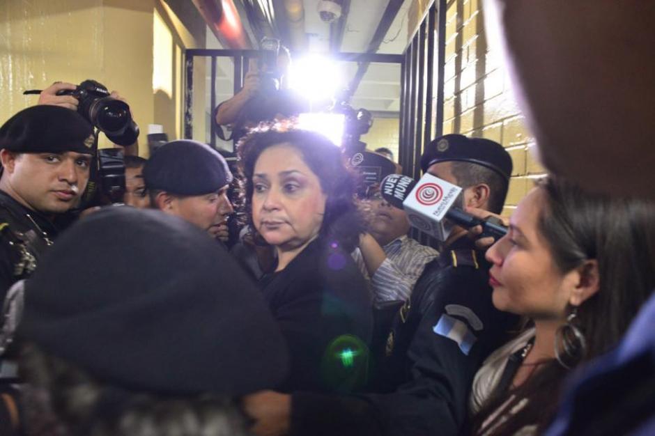 Este martes 22 de septiembre se desarrolla la audiencia de primera declaración de la jueza Jisela Reinoso. (Foto: Jesús Alfonso/Soy502)