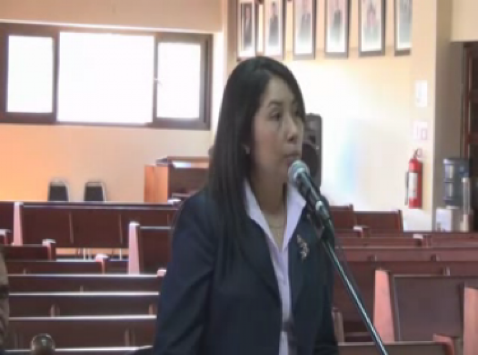 La titular del Juzgado D será Erika Aifán Dávila, exjueza de Jutiapa. (Foto: Captura Vista Pública No. 156 CC)