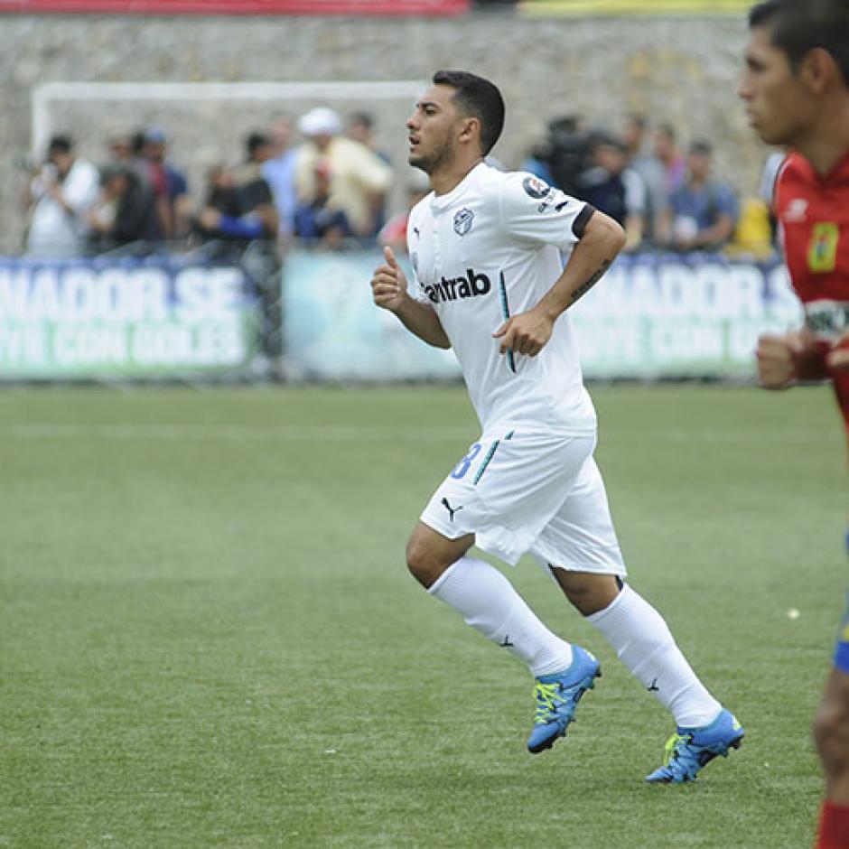 Diego Estrada volvió a Comunicaciones tras su paso por el fútbol de Costa Rica y Perú. (Foto: Archivo)