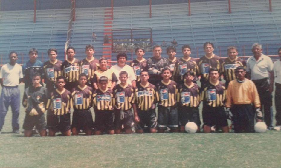 Desde pequeño, fue jugador en la cantera del Club La Aurora. (Foto: Juan Francisco Roldán)
