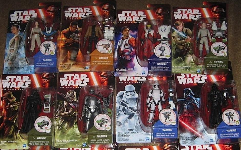 En redes, los fanáticos de Star Wars comparten fotos de sus colecciones. (borg.com)