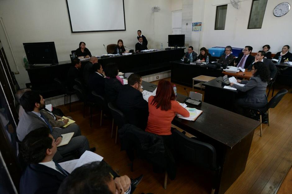 El juicio por el caso conocido como Igss-Pisa inició el 24 de noviembre. (Foto: Wilder López/Soy502)
