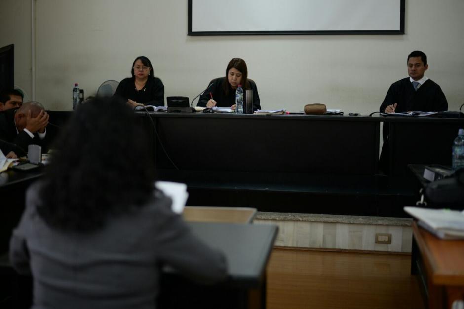 El juicio se desarrolla en el Tribunal Noveno de Sentencia. (Foto: Wilder López/Soy502)