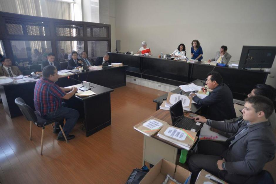 """El Tribunal de Mayor Riesgo """"A"""" lleva el juicio por el asesinato de Facundo Cabral. (Foto: Wilder López/Soy502)"""