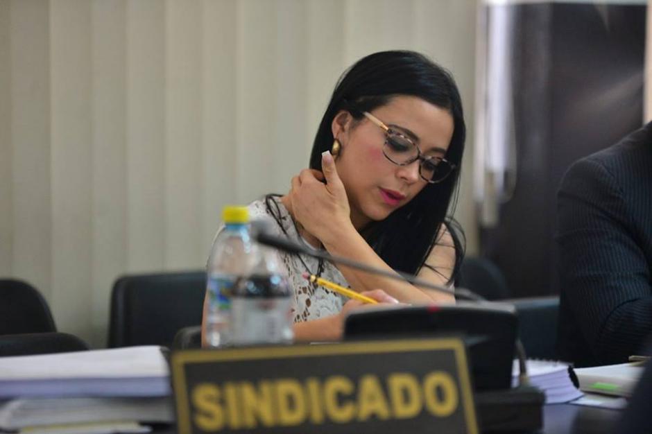 Julia Maldonado llegó este martes a Tribunales para una nueva audiencia del juicio. (Foto: Wilder López/Soy502)