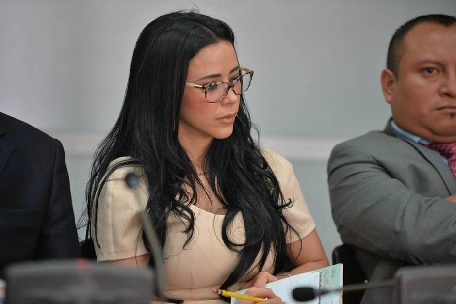 El juez dejó en libertad a Julia Maldonado por en el juicio por peculado. (Foto: Wilder López/Soy502)
