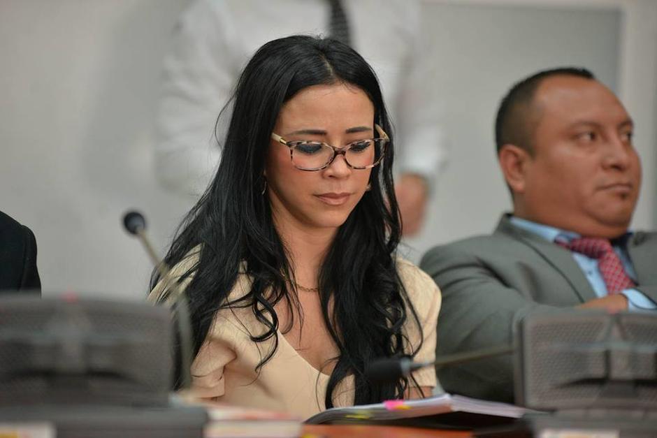 La exdiputada estaba acusada de malversación de fondos de Conjuve. (Foto: Wilder López/Soy502)