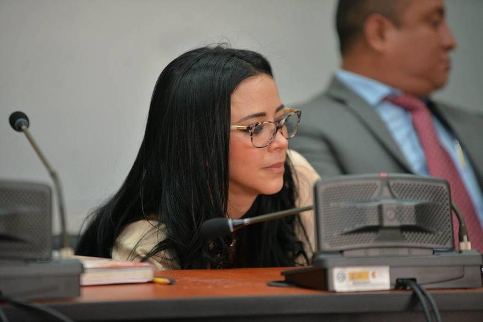 Julia Maldonado quedará en libertad luego de este juicio. Foto: Wilder López/Soy502)