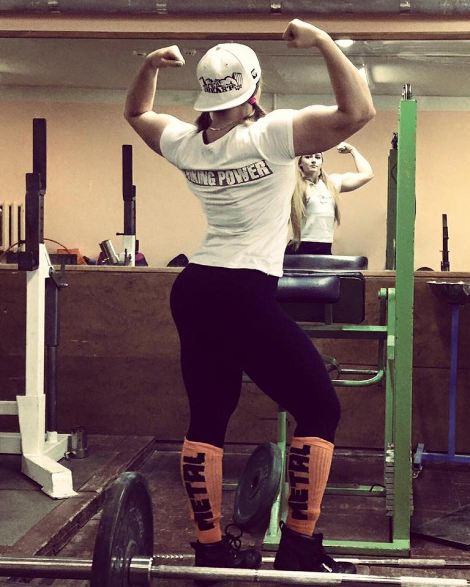Julia acostumbra subir imágenes de sus entrenamientos a las redes sociales. (Foto: Facebook/Julia Vins)