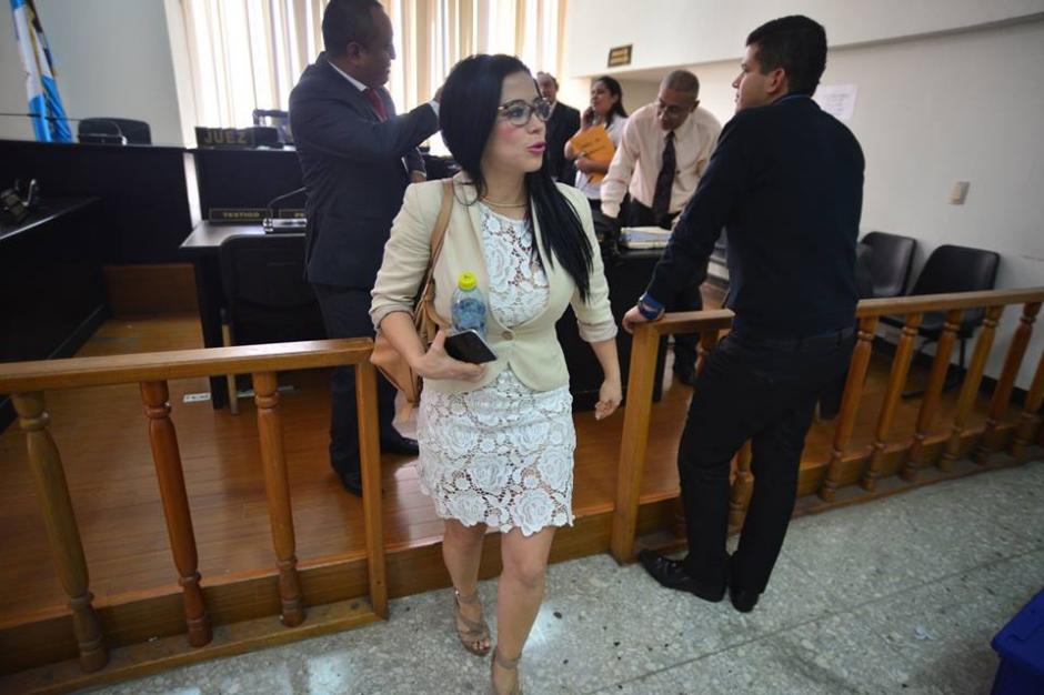 La exdiputada es acusada por malversación de fondos durante su administración. (Foto: Wilder López/Soy502)