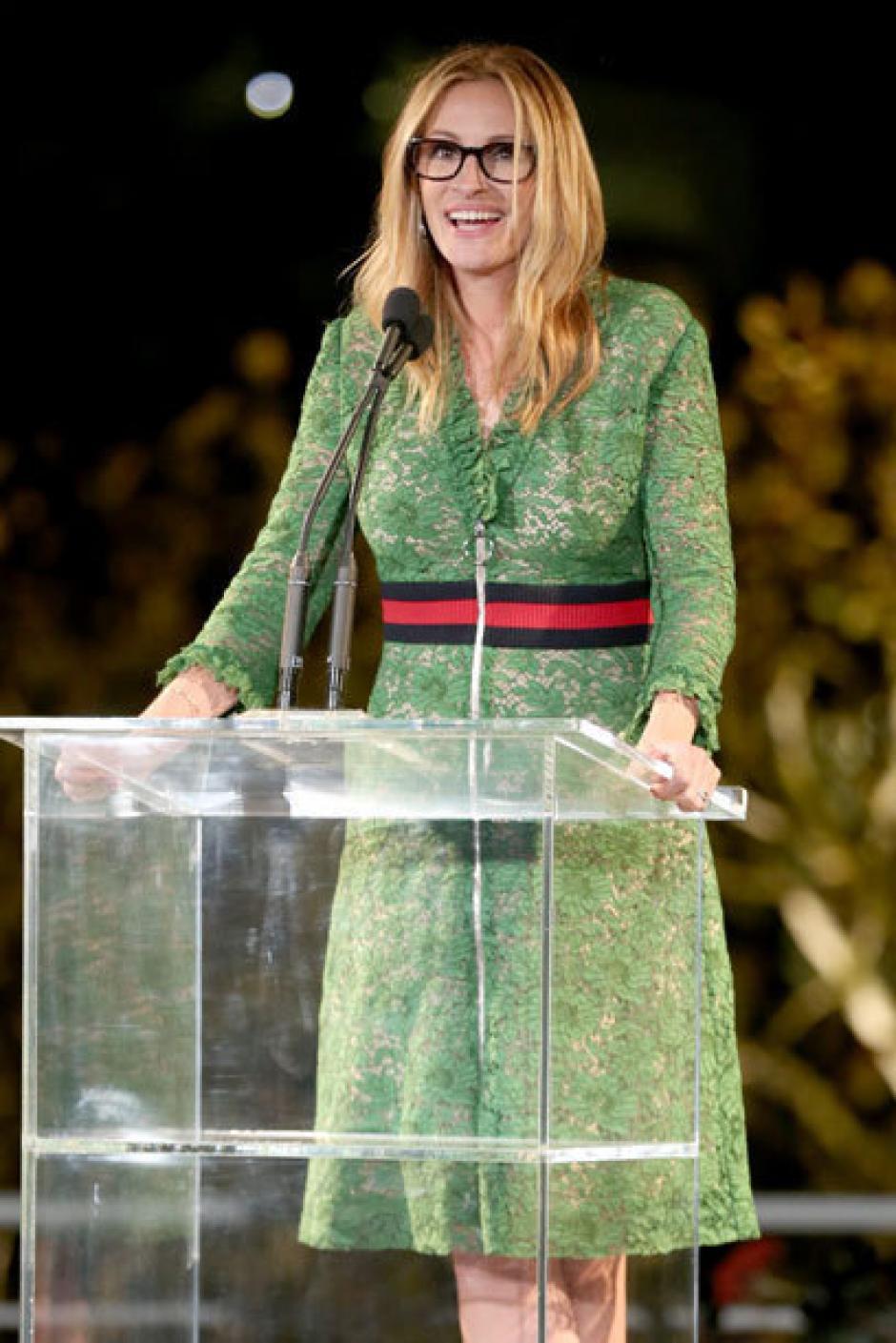 Julia Roberts lució el mismo vestido hace un tiempo. (Foto: stylebook)