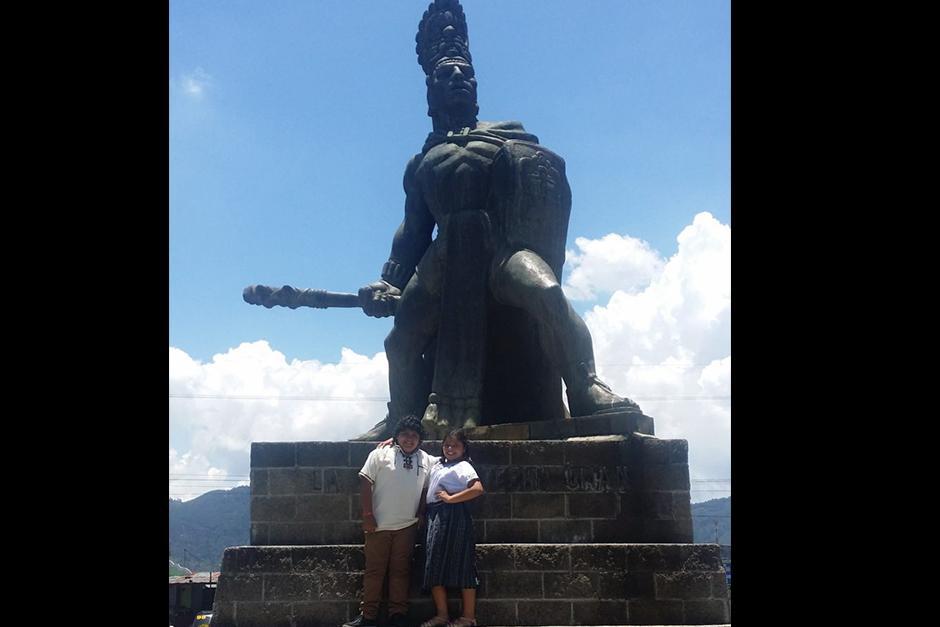 Este año, después de terminar la escuela, visitó Guatemala, donde conoció a su familia paterna. (Foto: vozinmigrante)