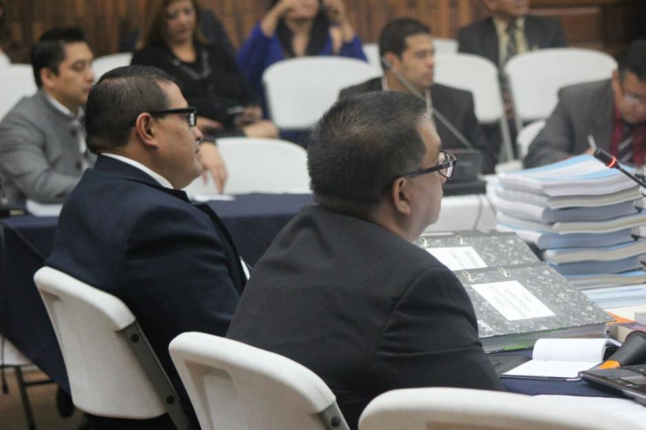Se presentaron muchos documentos para probar la inocencia de Aldana.  (Foto: Alejandro Balán/Soy502)