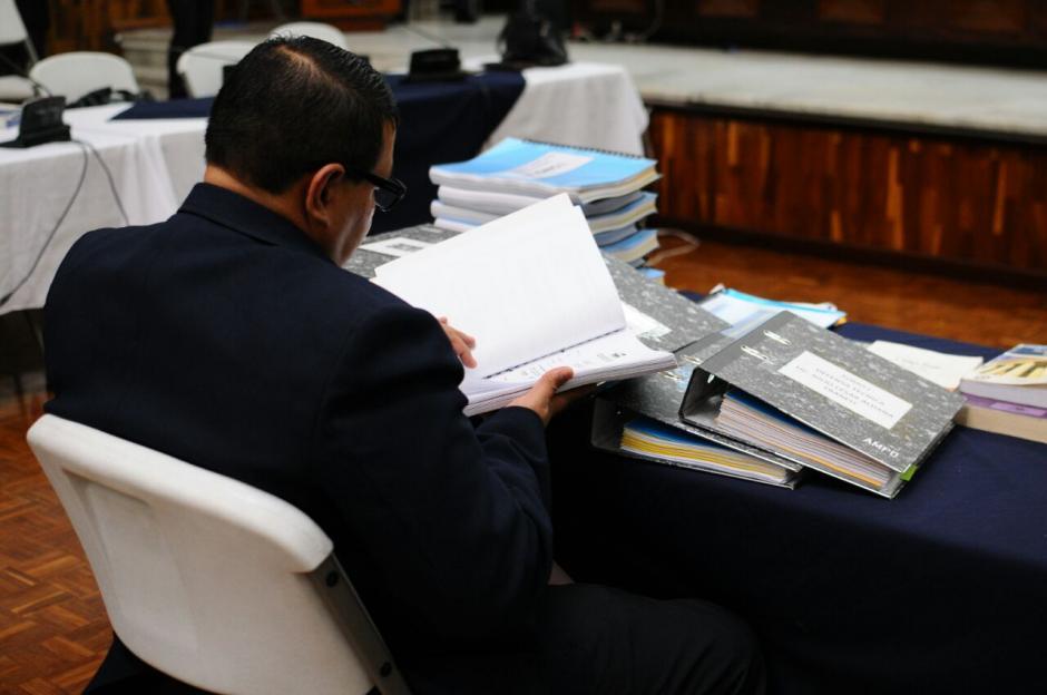 """Abogado dice que se """"satanizaron"""" los créditos concedidos al exbinomio presidencial. (Foto: Alejandro Balán/Soy502)"""