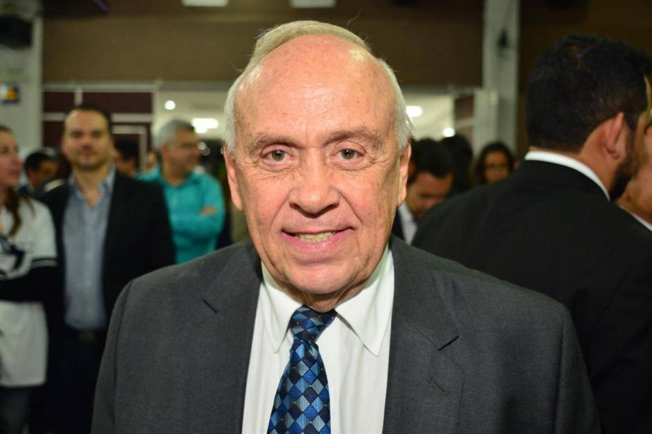 Julio Enrique Dougherty disputará contra Fernández la magistratura suplente ante la CC. (Foto: Jesús Alfonso/Soy502)