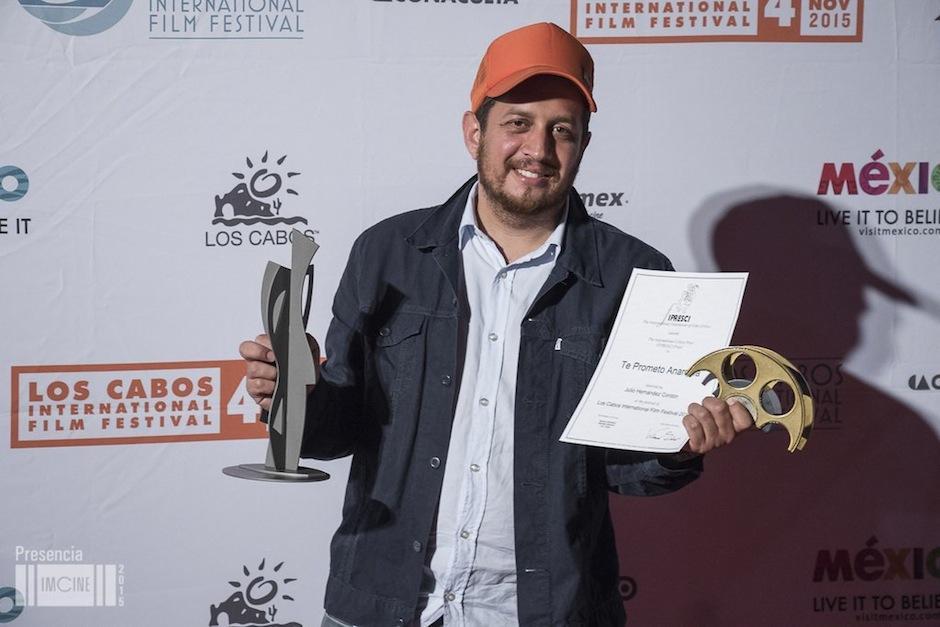 """Te Prometo Anarquía recibe el premio a """"Mejor Película"""" en el Festival de Cine de Los Cabos, México. (Foto: Imcine)"""