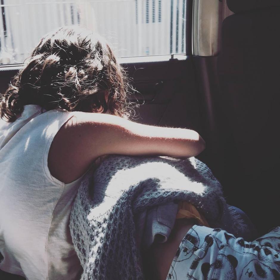 La protagonista podría ser su hija de 8 años. (Foto: Julio Hernández)