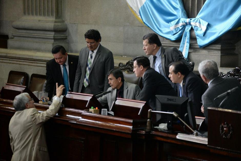 La Junta Directiva esperó 48 minutos para suspender la sesión. (Foto: Wilder López/Soy502)