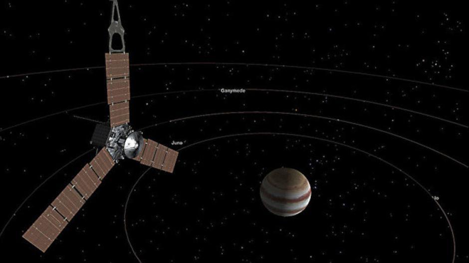 Júpiter tiene cuatro satélites a su alrededor. (Foto: NASA)