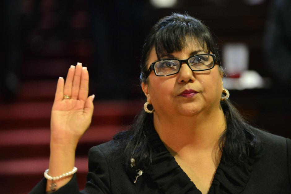 Nydia Arévalo Flores asumió como la nueva titular del IDPP. (Foto: Jesús Alfonso/Soy502)