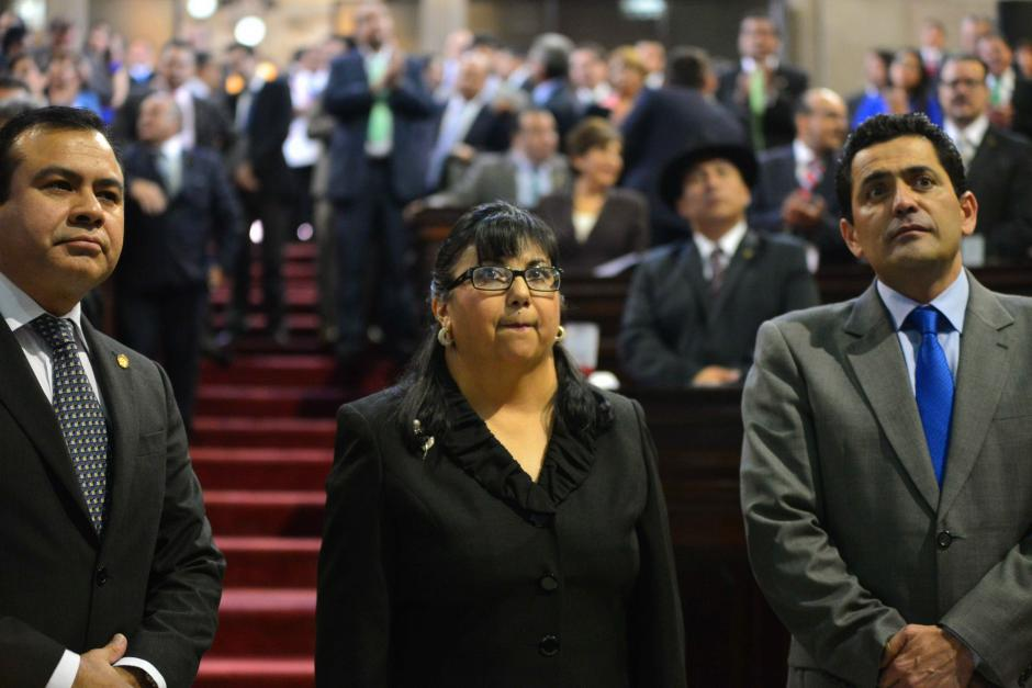 Nydia Arévalo Flores fue juramentada esta tarde en el Congreso. (Foto: Jesús Alfonso/Soy502)