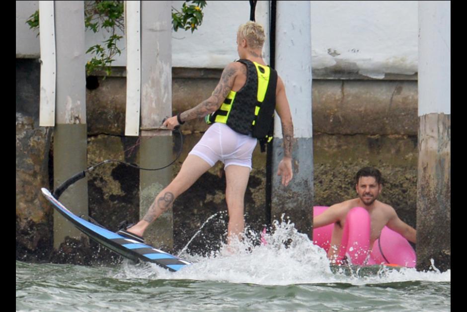 El wakeboard es un deporte que mezcla el skateboarding con el esquí acuático. (Foto: TMZ)