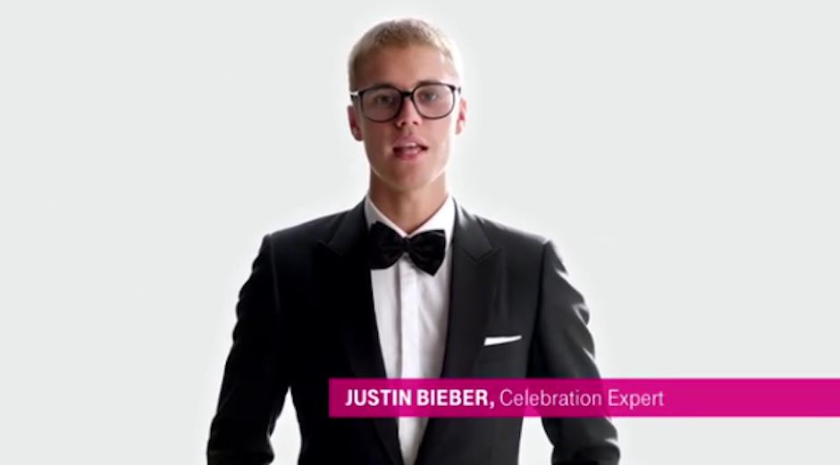 El anuncio de T-Mobile que protagoniza. (Foto: Instagram)