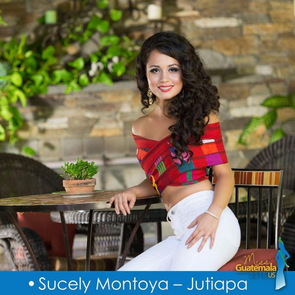 Sucely Montoya representa a Jutiapa. (Foto: Miss Guatemala US)