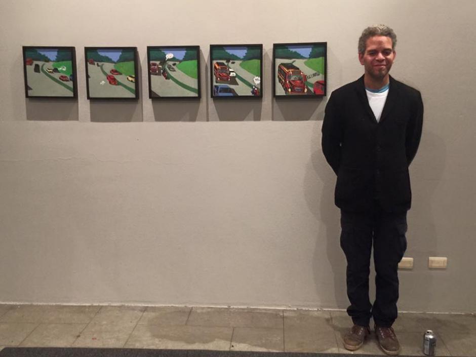 """Con las series """"Bus y Moto"""" y """"La Noche"""" el artista logra llevarse el galardón. (Foto: Helena Galindo)"""