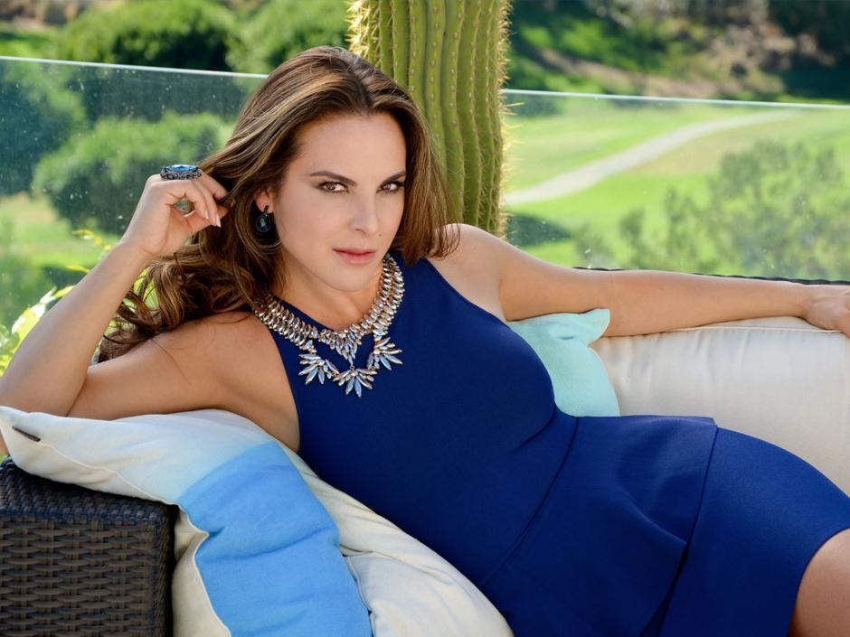"""La actriz mexicana Kate del Castillo se acercó mucho a uno de los hombres más buscados en la historia: """"El Chapo"""" Guzmán. (Foto: TV y Novelas)"""
