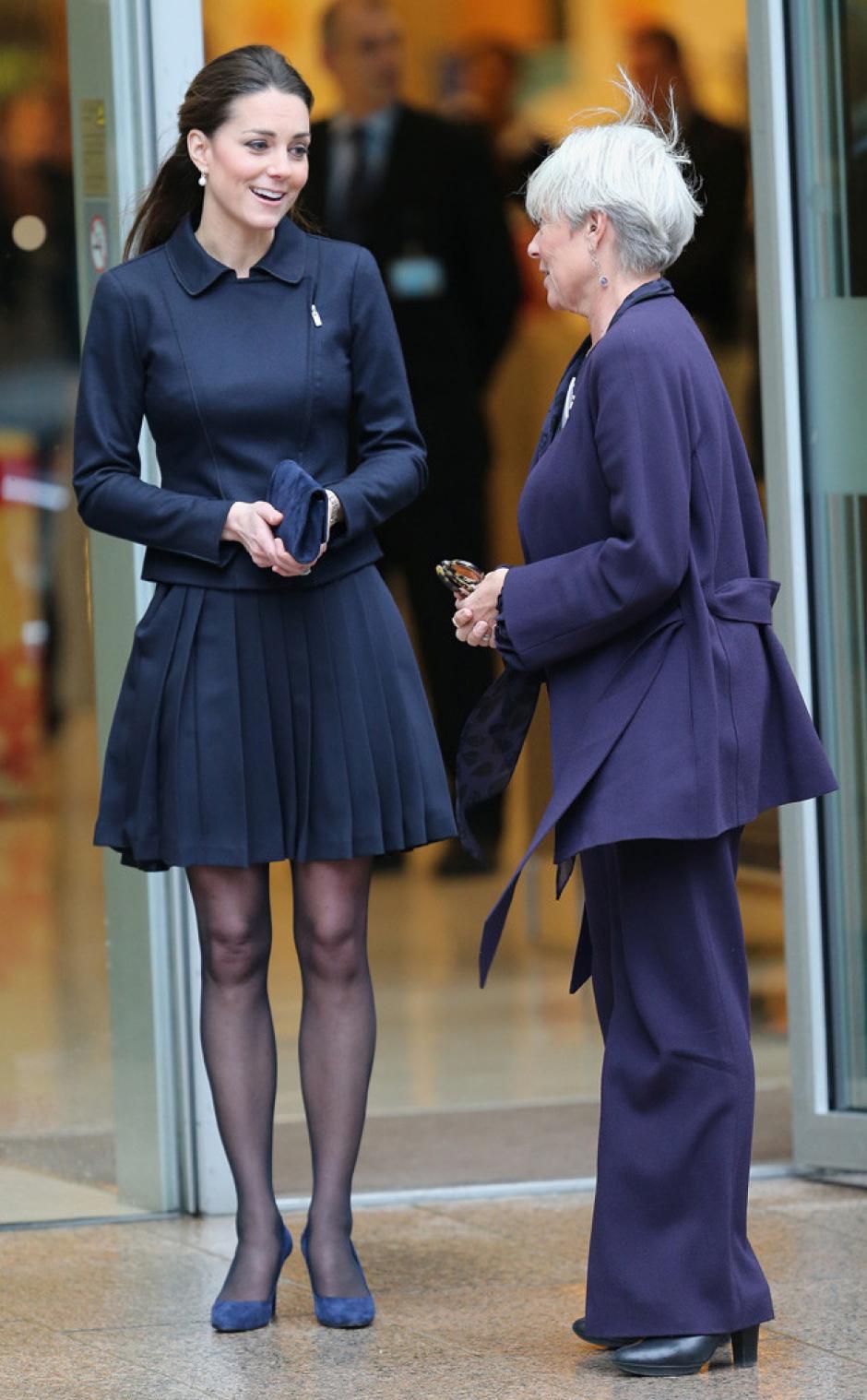 Kate siempre ha impuesto su estilo, aún en eventos públicos. (Foto: Laboratorio de Estilo ABC)