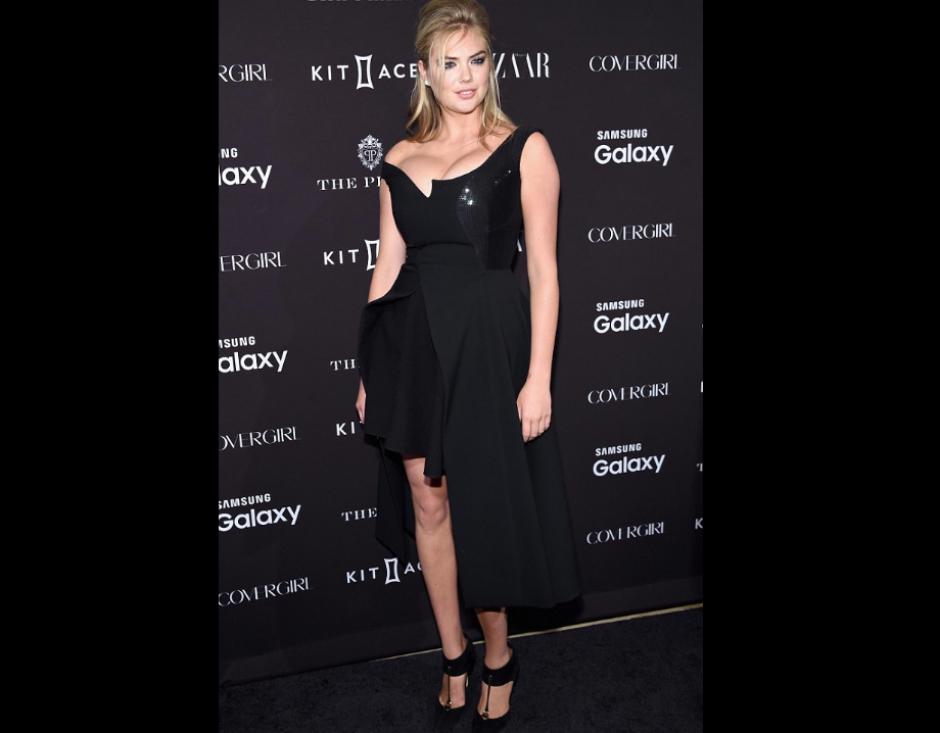 Kate Upon robó suspiros con este vestido que resaltó su voluptuosa figura. (Foto: Getty Images)
