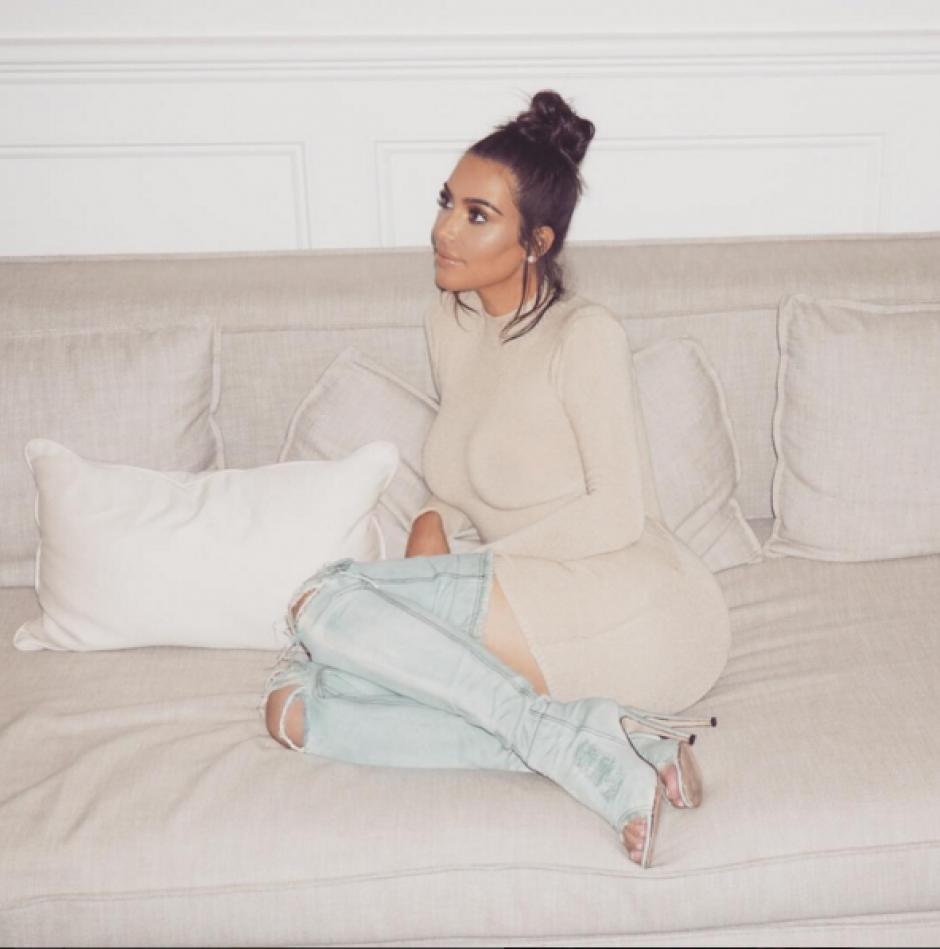 ¿Será que Kim le va a contestar?. (Foto: Instagram)