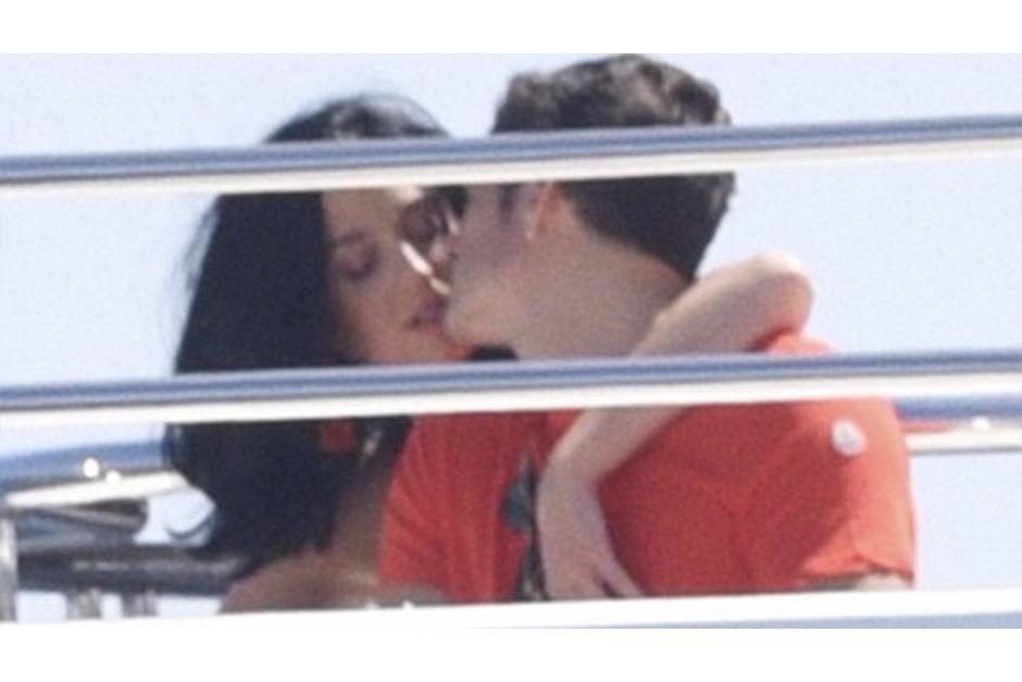Katy y Orlando llevan saliendo aproximadamente cuatro meses. (Foto: Daily Mail)
