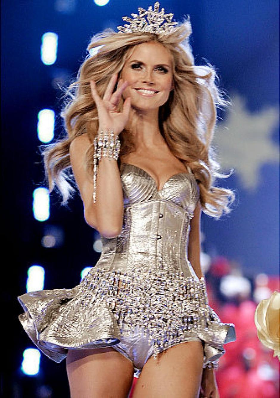 """Klum fue un """"ángel"""" de Victoria's Secret. (Foto: kcmq.com)"""