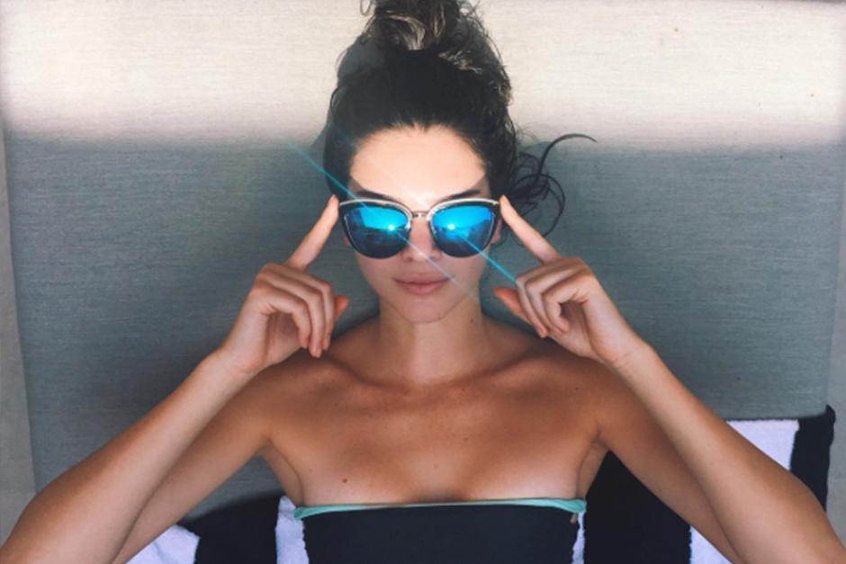 Kendall de 20 años ya es una modelo reconocida. (Foto: Instagram)