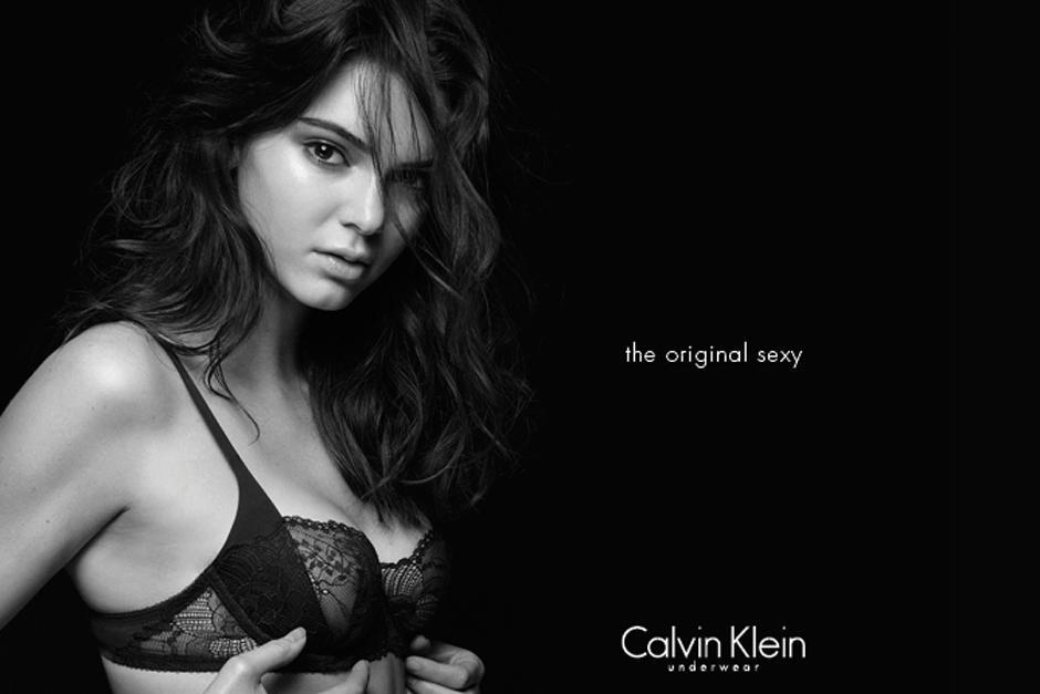 Esta campaña es la última de la firma de lencería Calvin Klein.