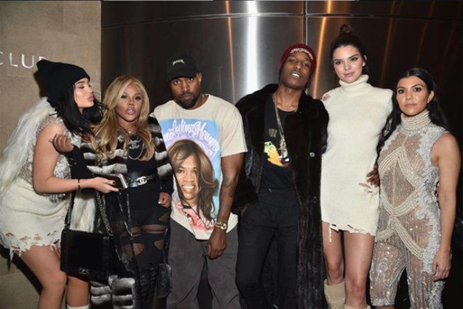 A$AP Rocky ya ha compartido varios momentos con la familia Kardashian. (Foto: Archivo)