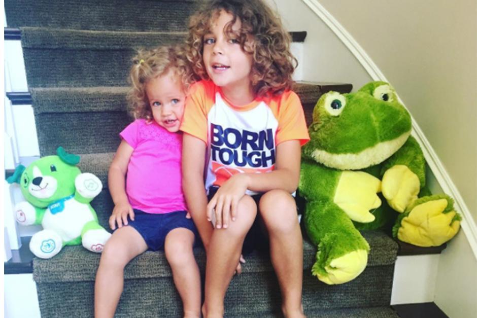 Kendal tiene dos hijos con su pareja, uno de 6 y otro de 4 años. (Foto: Instagram)