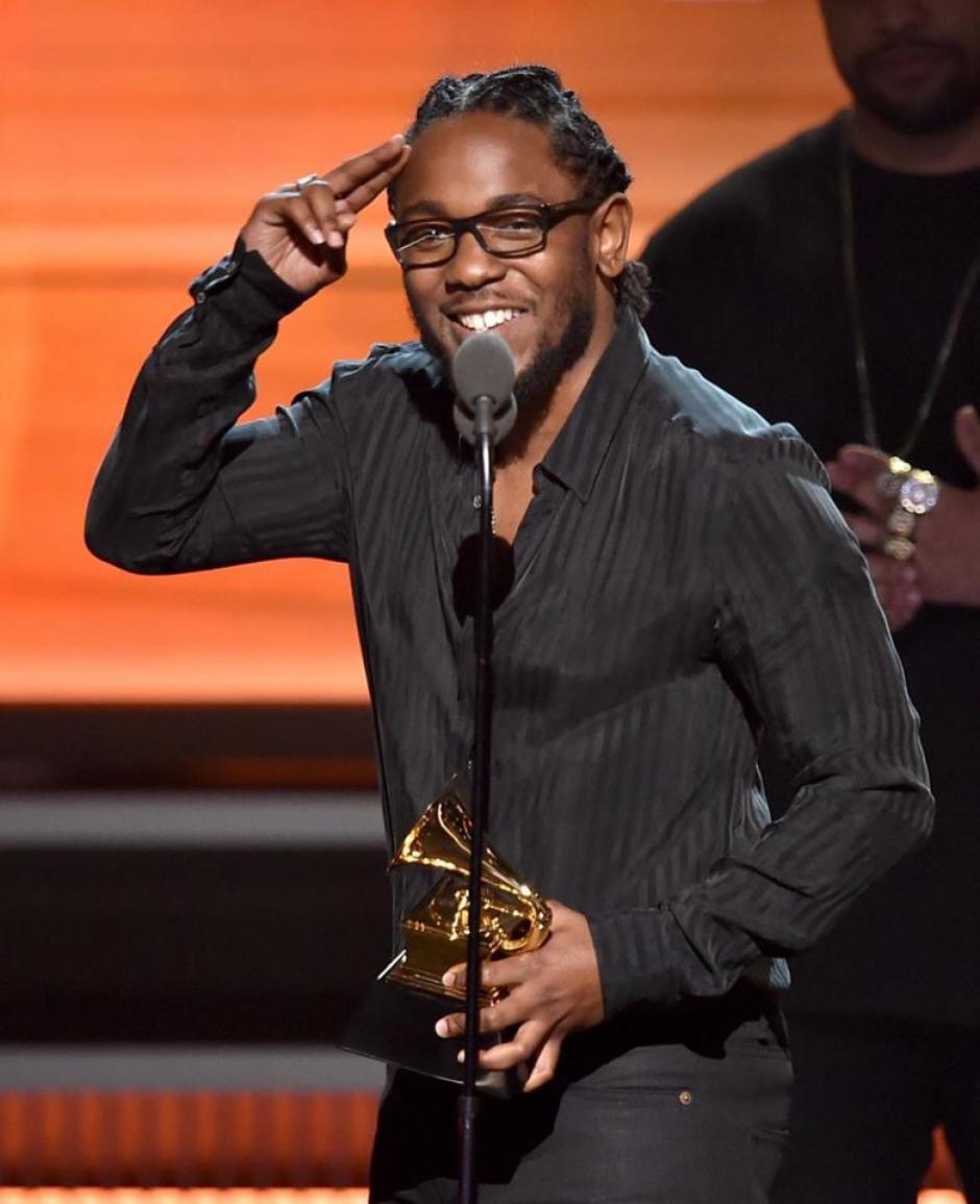 Kendric Lamar recibió el Grammy a Mejor Álbum de Rap. (Foto: The Grammys)