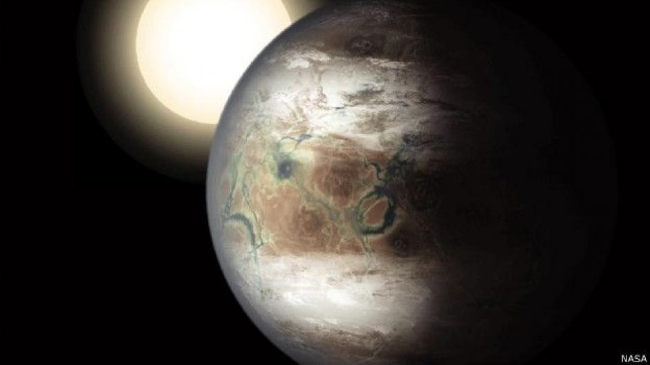 Se trata de Kepler-452b y es el primer planeta con un tamaño similar a la Tierra: solo es un 60% más grande. (Foto: NASA)