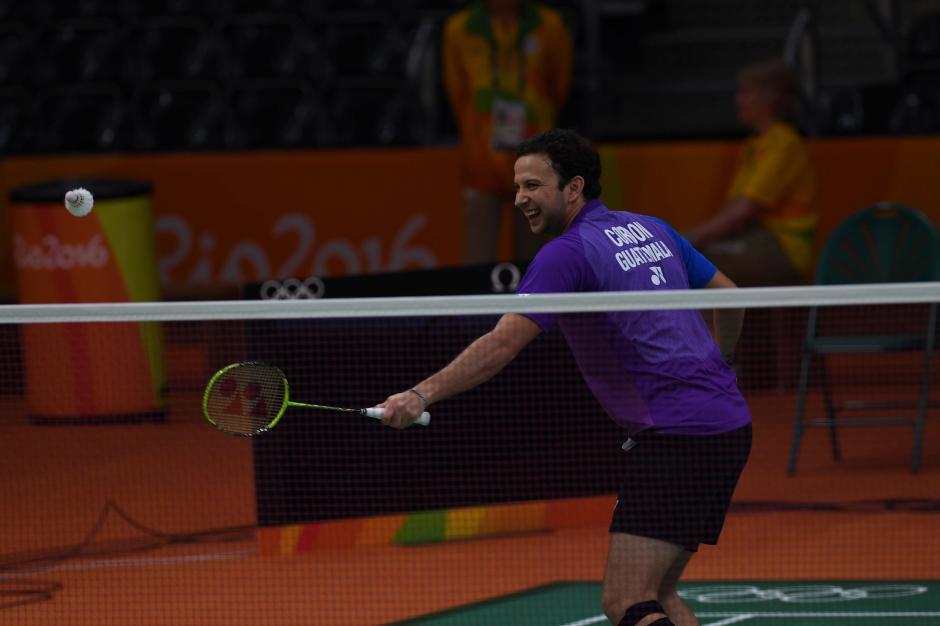 Kevin Cordón palpita su debut en sus terceros Juegos Olímpicos. (Foto: Sergio Muñoz/ACD)