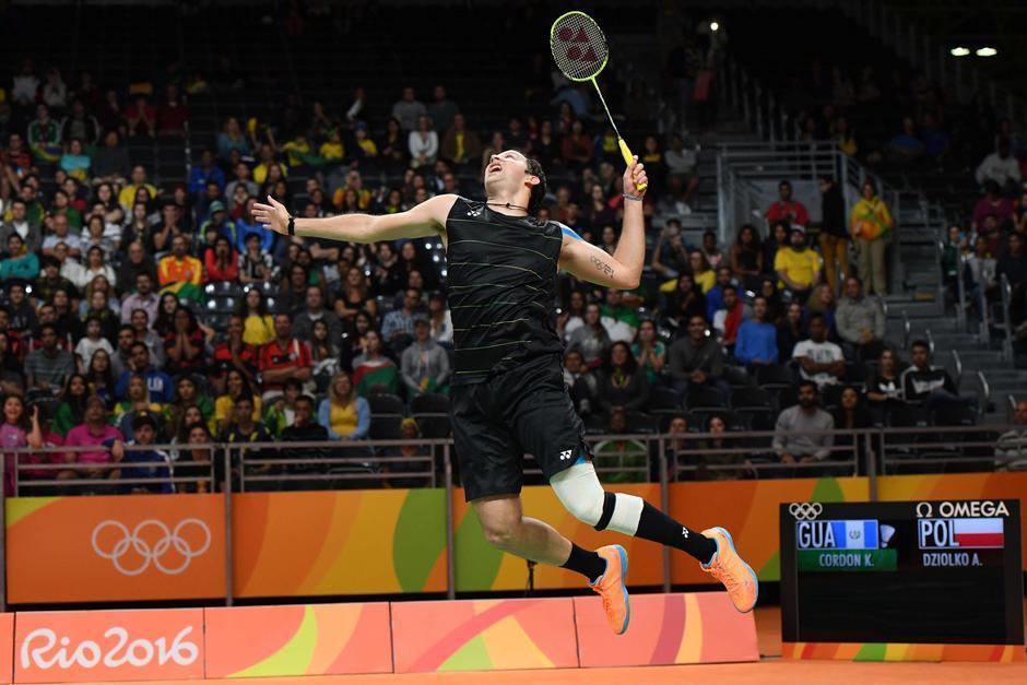 El primer set contra el polaco lo ganó por 21-18. (Foto: Sergio Muñoz/Enviado ACD)