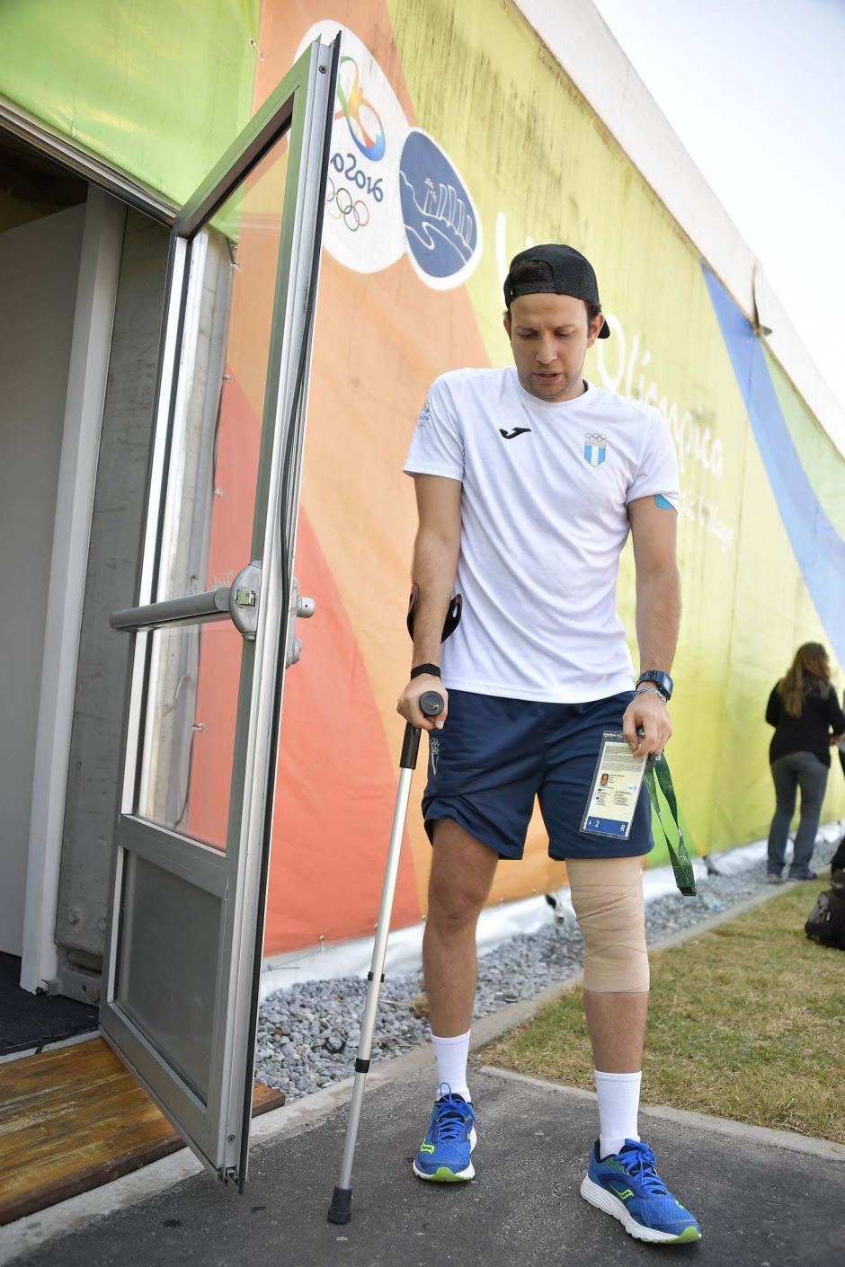 Cordón inició en Brasil su recuperación de la rodilla izquierda. (Foto: Aldo Martínez/Enviado de Nuestro Diario)