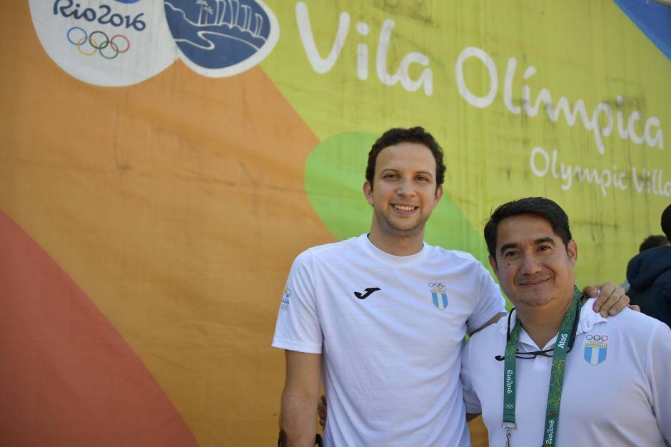 Kevin Cordón y su técnico José María Solís, tienen más de 12 años de trabajar juntos. (Foto: Aldo Martínez/Enviado de Nuestro Diario)