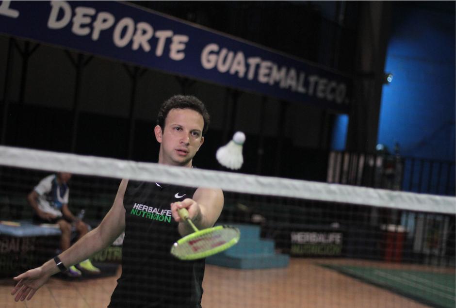 El badmintonista nacional, Kevin Cordón, vuelve a competir tras siete meses lesionado. (Foto: Luis Barrios/Soy502)