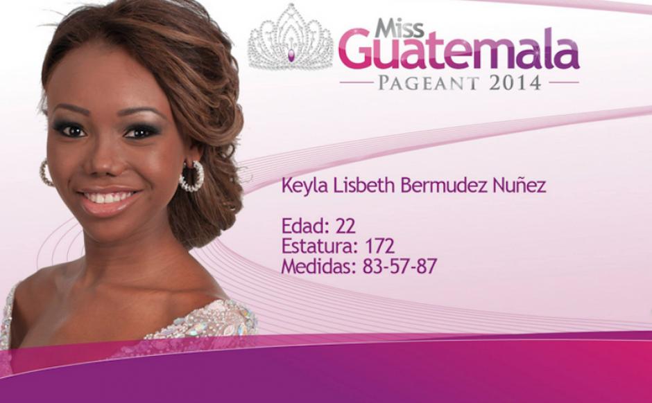 Keyla Bermúdez representa a Livingston. (Foto: Miss Guatemala oficial)